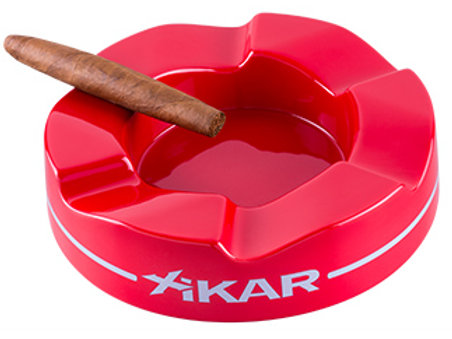 XIKAR WAVE ASHTRAY RED