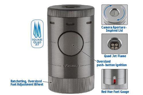 XIKAR Volta Table Lighter G2