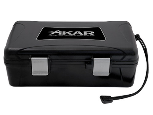 XIKAR Travel Humidor 10 CT BLACK