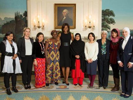 今日は国際女性デー、4年前に日本人初!「国際勇気ある女性賞」を受賞したことを思い出します。