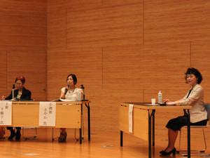 6月10日(土)名古屋大学で上野千鶴子先生と講演しました。