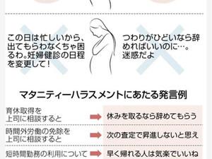マタハラ被害、熊本県内でも 妊婦への嫌み、退職強要… コロナで深刻化懸念