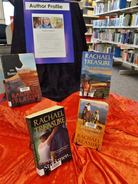 Author Profile: Rachael Treasure