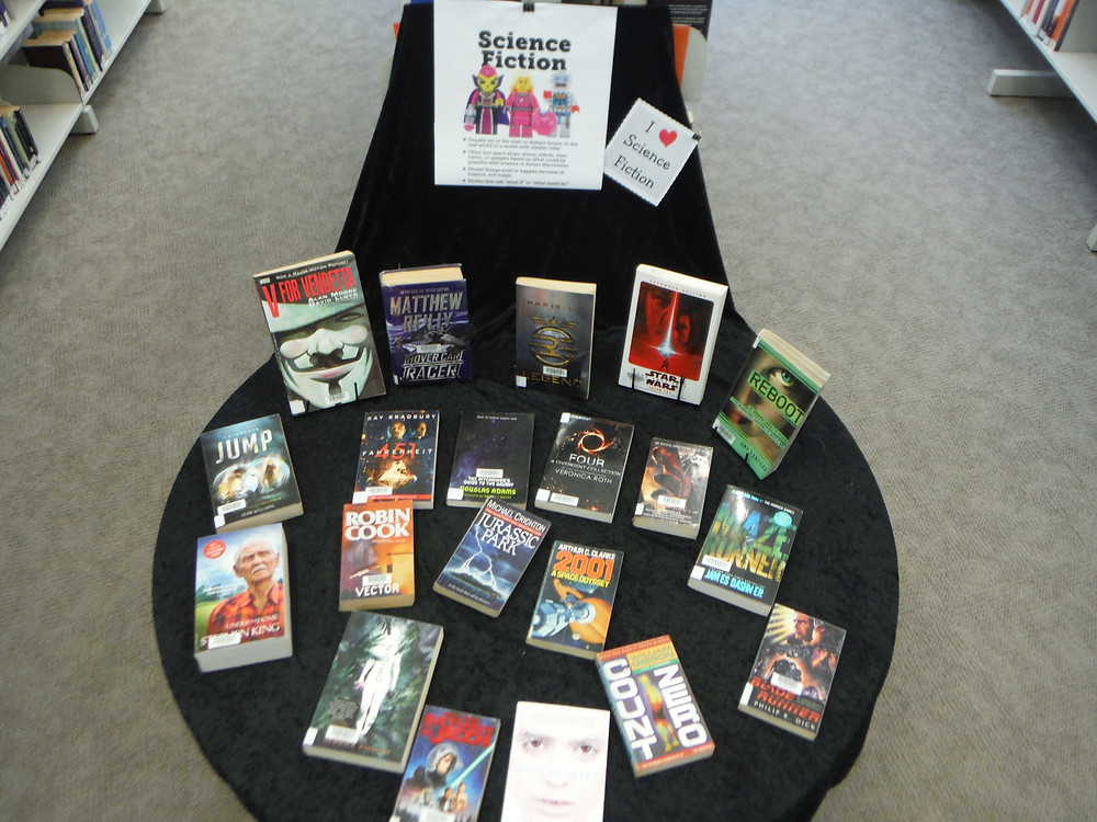 Get into Science ( Fiction ) Week at Claremont College Library