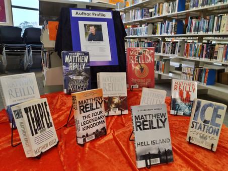 Author Profile: Matthew Reilly