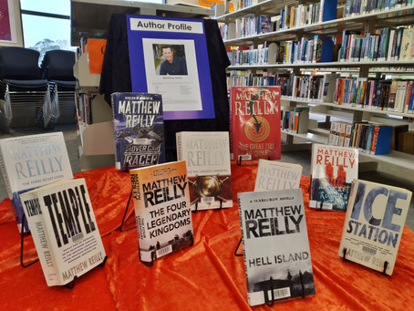 Author Profile: Matthew Reilly