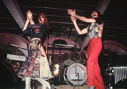 photograph of CARMEN - the flamenco rock band. 1974