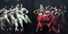 photograph of Carmen - the flamenco rock band's first album