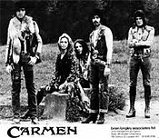 photograph of my band Carmen - the flamenco rock band