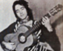 photograph of me - the founder of CARMEN - the flamenco rock band.