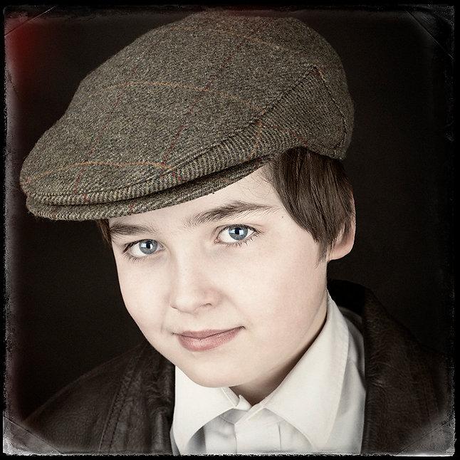 photograph of Zebedee as a barrow boy by David the family portrait photographer