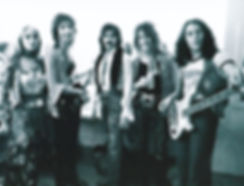photograph of CARMEN - the flamenco rock band. 1974