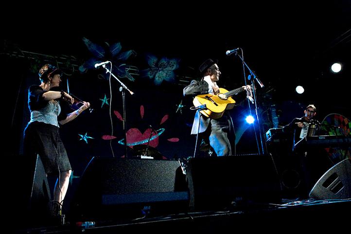 Slip-ups on stage!