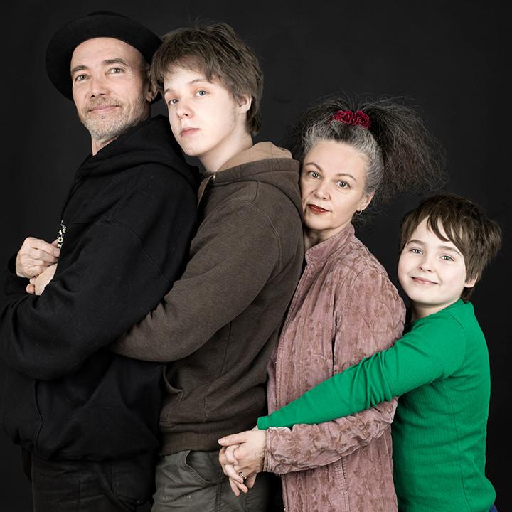 photo of the Randall-Godward family