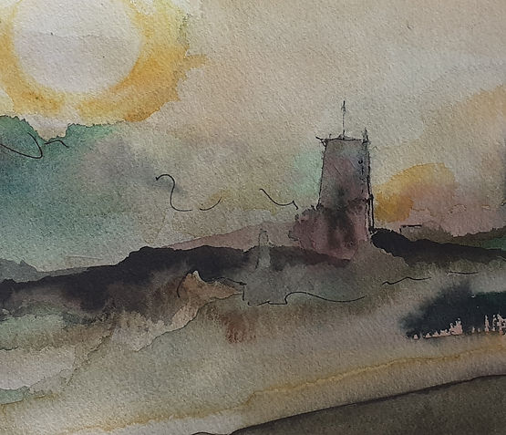 Dawn in Southwold14.5x36cm.jpg