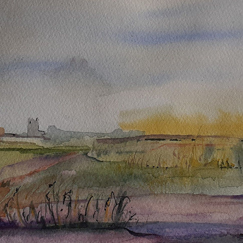 View across the Marshes