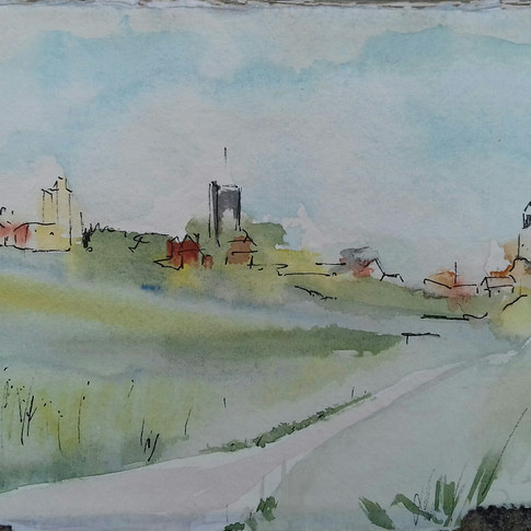 View across to Southwold