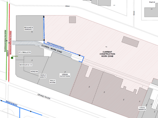 Water Main Installation - Abbot Road Lane Closures and Alley Closure Beginning Next Week