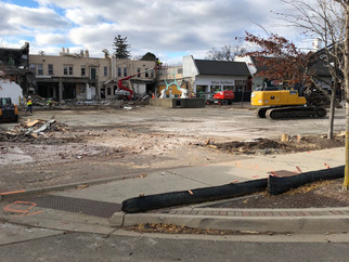 Demo Continues with Sidewalk Closure Next Week