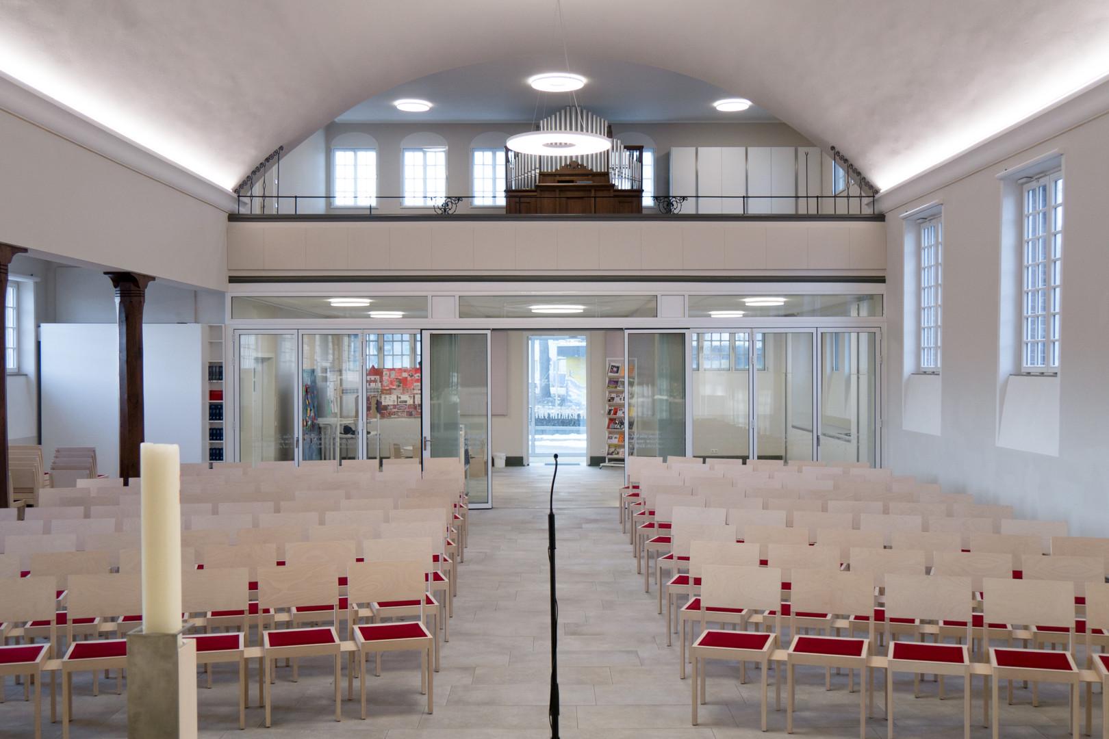 .EVANGELISCHE GESAMTKIRCHENPFLEGE KIRCHHEIM | UMBAU UND SANIERUNG CHRISTUSKIRCHE | KIRCHHEIM UNTER TECK