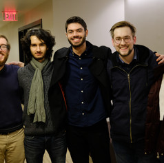 Film Scoring Department Friends: Justin Pirochi, Pedro Osuna, Daniel Tauber, and Ying Dang