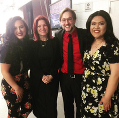 Rosanne Cash, Rachel Gonzalez and Kyana Ranene at Berklee's 2018 Commencement Concert