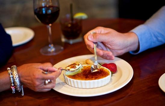 Dessert from Hudson's Bar + Grill