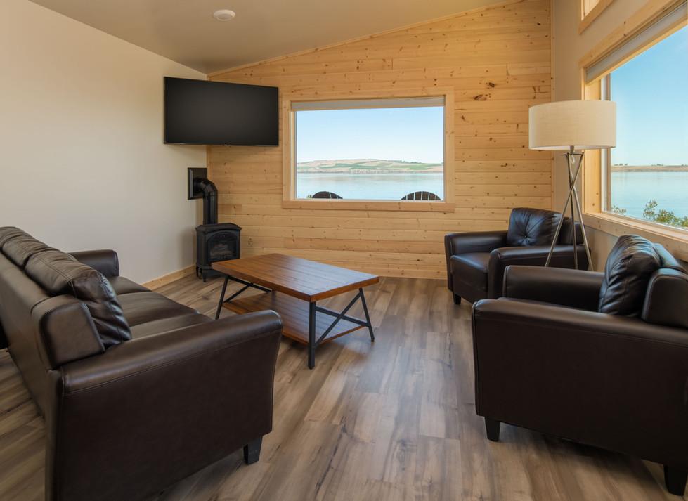 living room area inside cabins