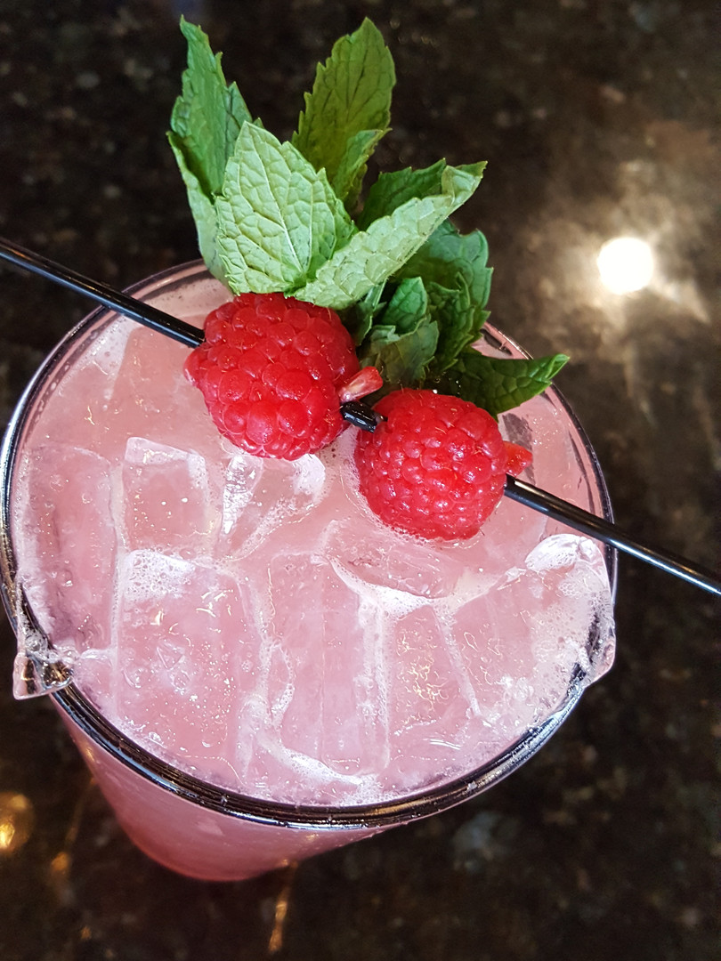 Pinkies Out cocktail