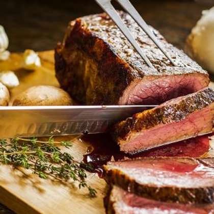 Smoked Prime Rib with Au Jus and Creamy Horseradish Sauce, Dinner for (2)