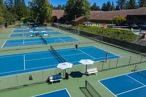 West Hills Outdoor Tennis courts