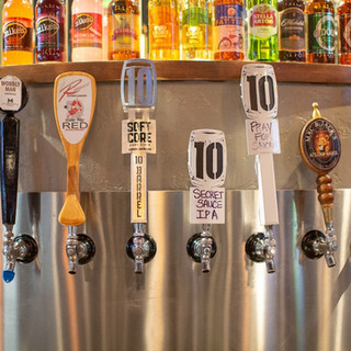 Beer Taps at MJBarleyhoppers