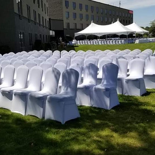 Lawn Event for wedding ceremony and reception