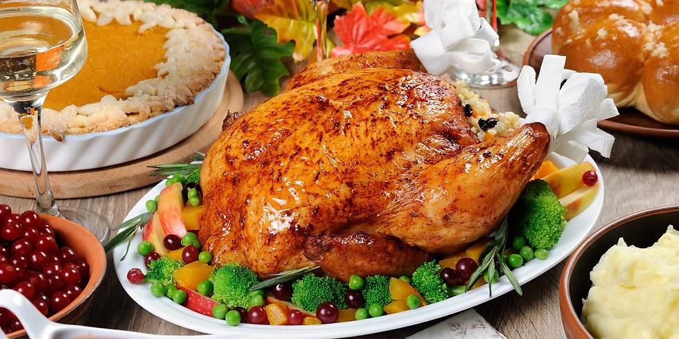Thanksgiving Dinner at Ruddy Duck Restaurant
