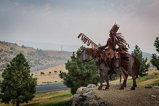 Nez Perce Statue in Lewiston