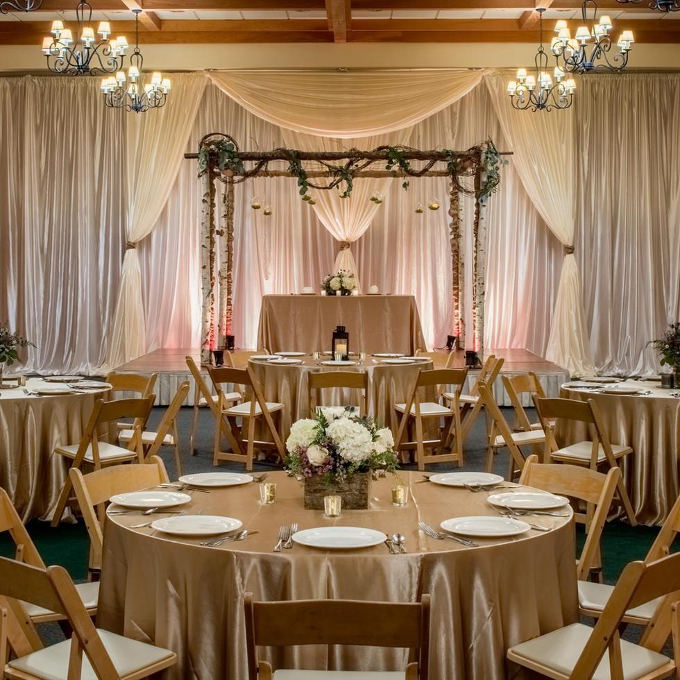 Wedding Reception at Heathman Lodge