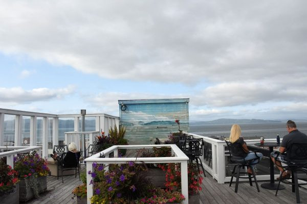 Rooftop View at Hotel Elliott