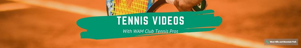 tennis youtube channel header
