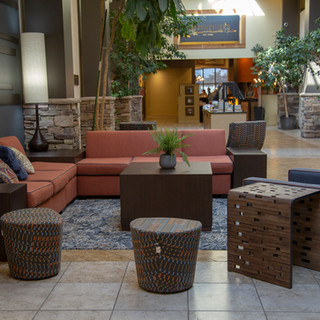 Lobby in Hells Canyon Grand Hotel