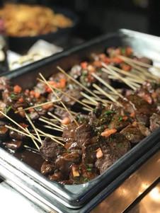 beef skewer catering