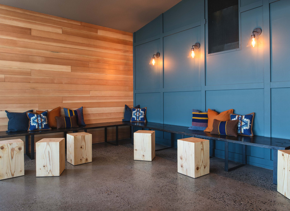 Two Barrels Taps + Grill casual seating