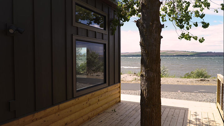 Tour our Riverfront Cabins at River Lodge Cabins & Grill