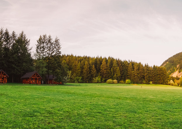 A Panoramic View of Wind Mountain Ranch