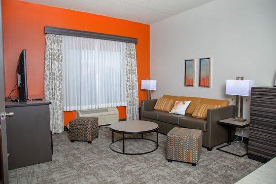 guestroom sitting area