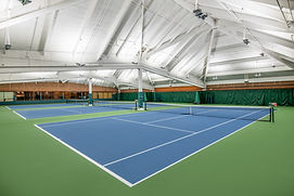 Mountain Park indoor tennis court