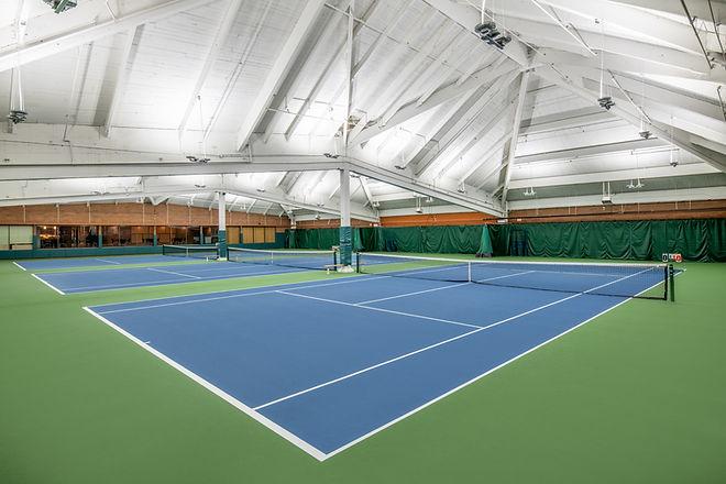 Mountain park indoor tennis courts