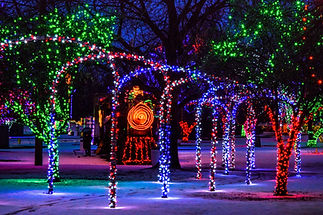 Winter Spirit lights