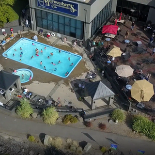 outdoor Pool atHells Canyon Grand Hotel