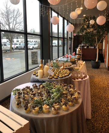 catering display