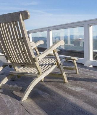 Rooftop-deck at Hotel Elliott